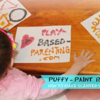 How to make Puffy Paint Spice – Sensory Play