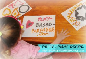 HOT TO MAKE PUFFY PAINT