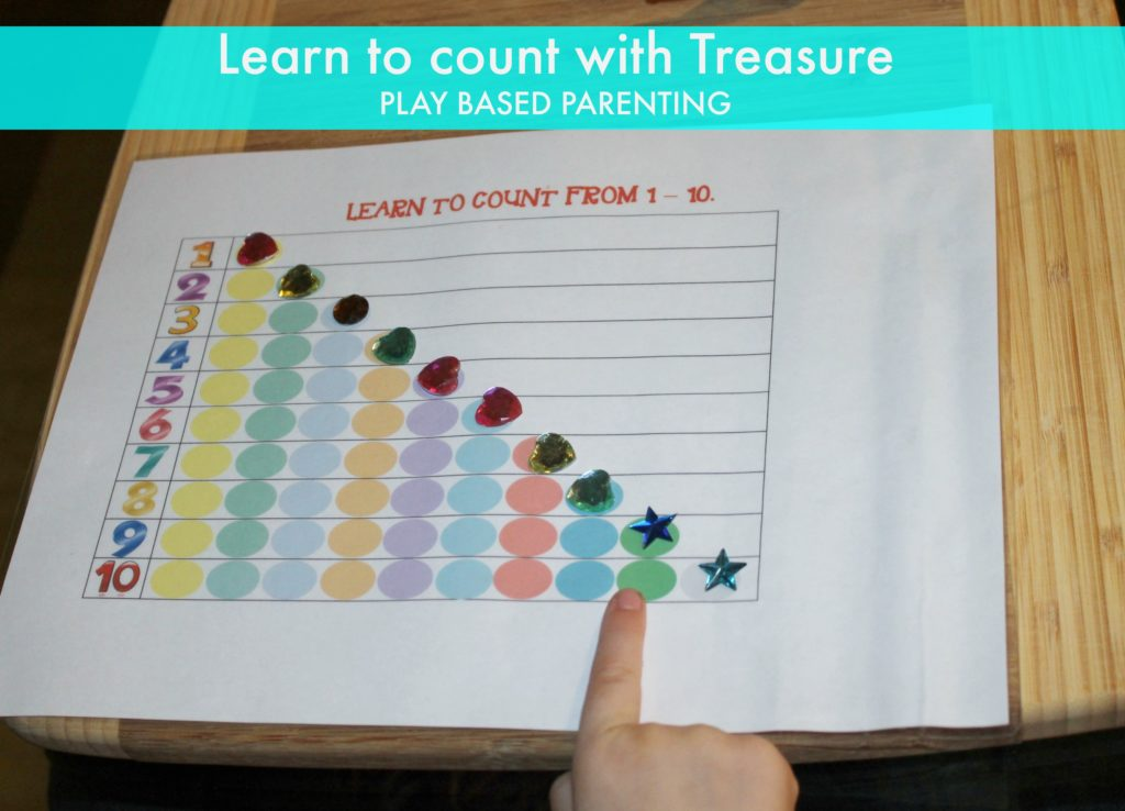 learn to count game