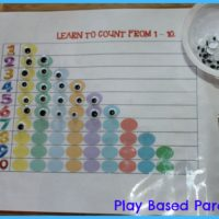 learning to count with monster eyes