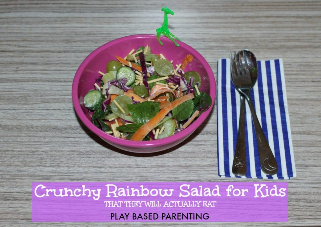 crunchy salad for kids that they will eat
