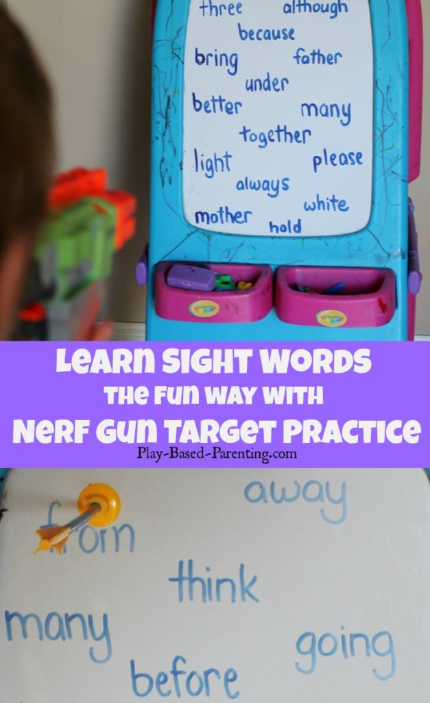 learn-sight-words-the-fun-way-with-nerf-gun-target-practice sight words game