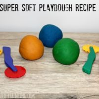 Soft Play Dough Recipe
