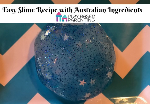 slime recipe with Australian ingredients