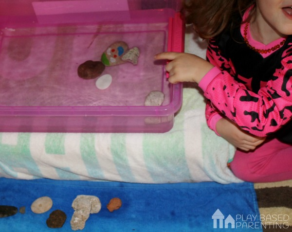 floating rock experiment for kids