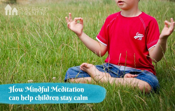 mindful meditation can help children stay calm