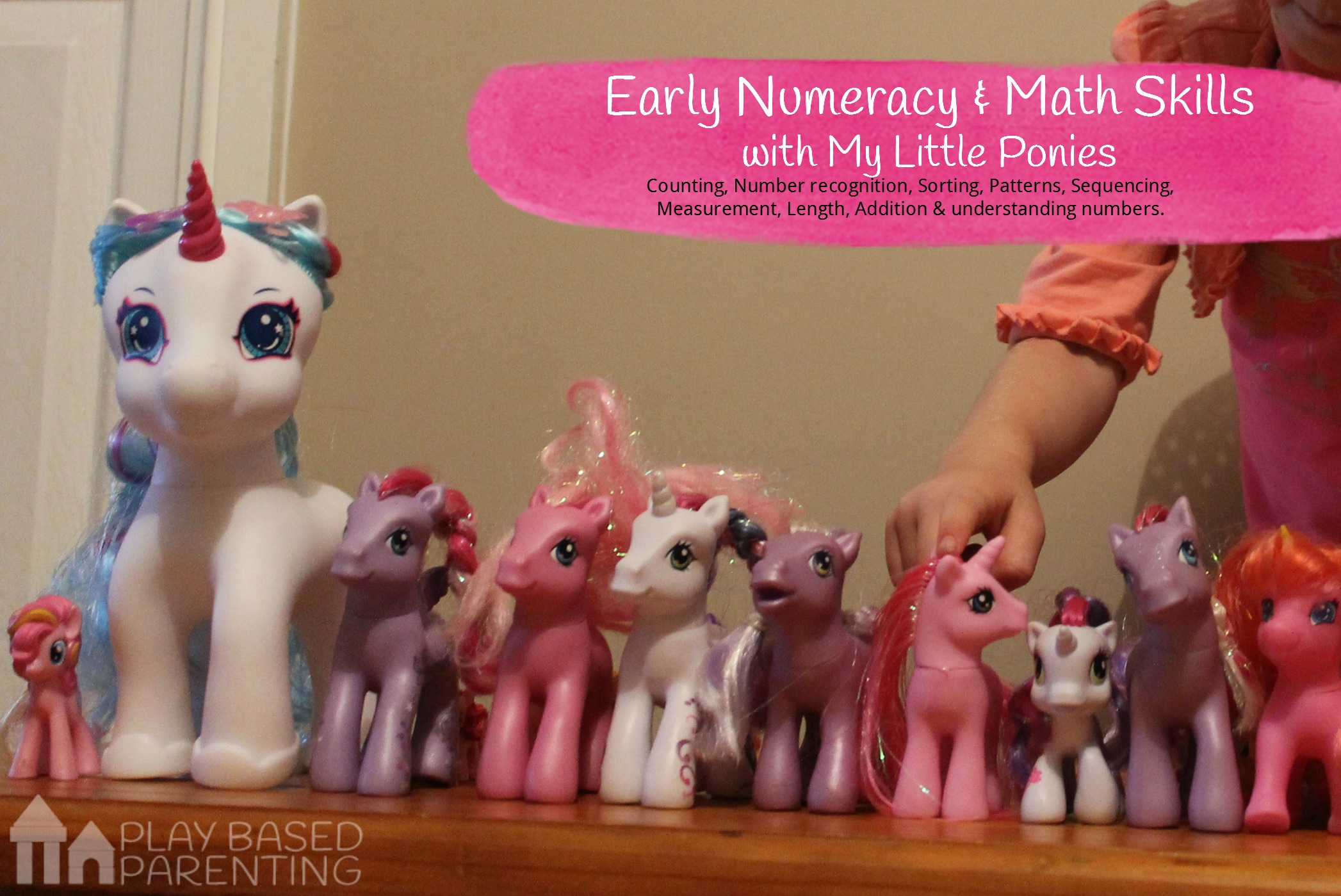 early numeracy and early math skills for preschoolers