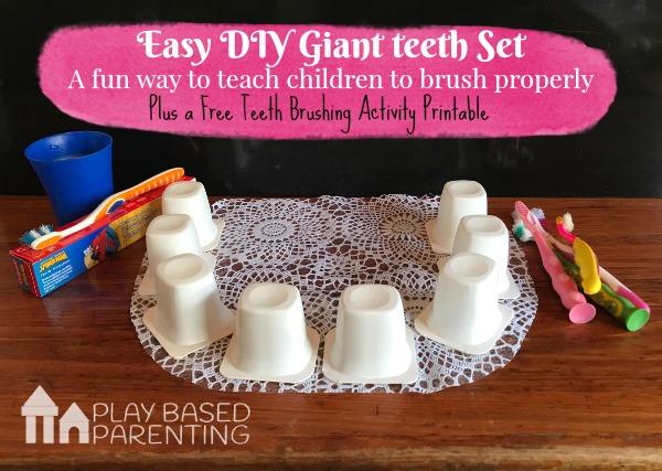 teeth brushing activities to teach kids to brush properly