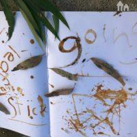 No Homework Series – Nature writing with Mud