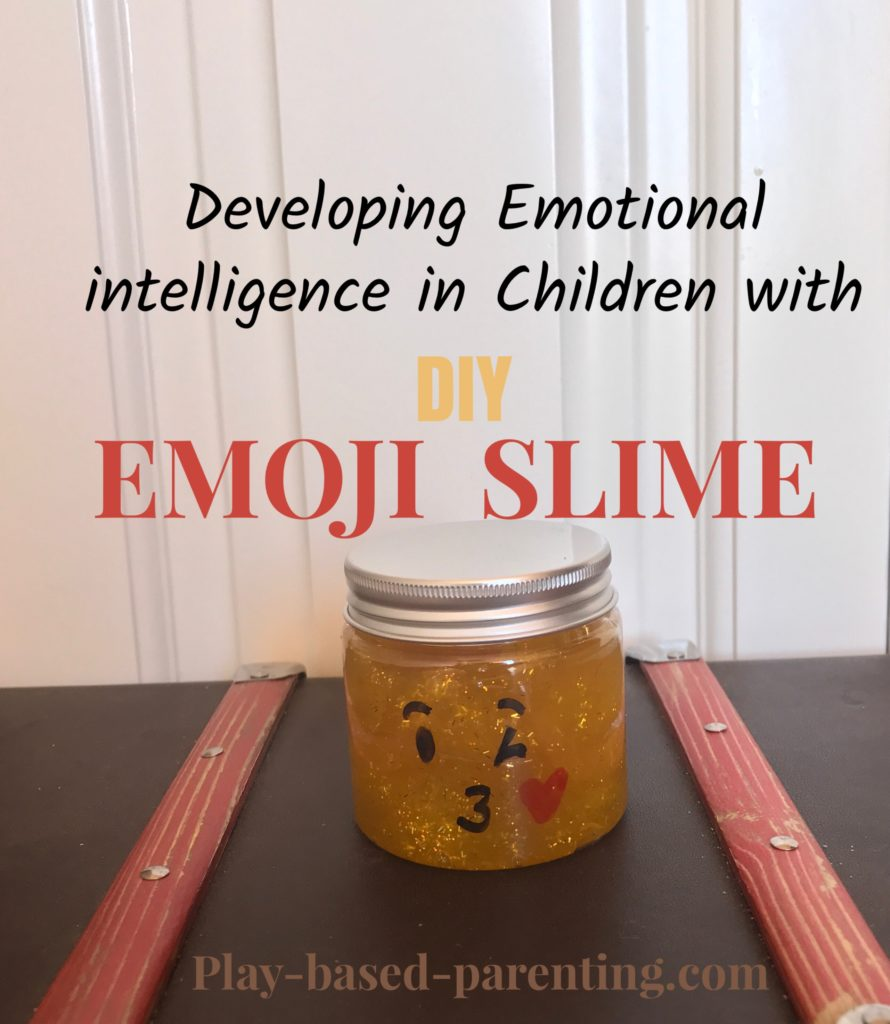 Develop emotional intelligence in children with emoji slime