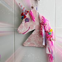 Easy 6 steps DIY Unicorn hair clip and Jewelry Holder