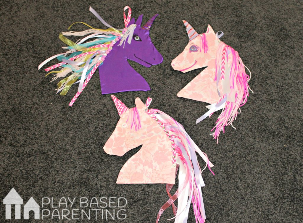 DIY Unicorn hair clip and jewelry craft