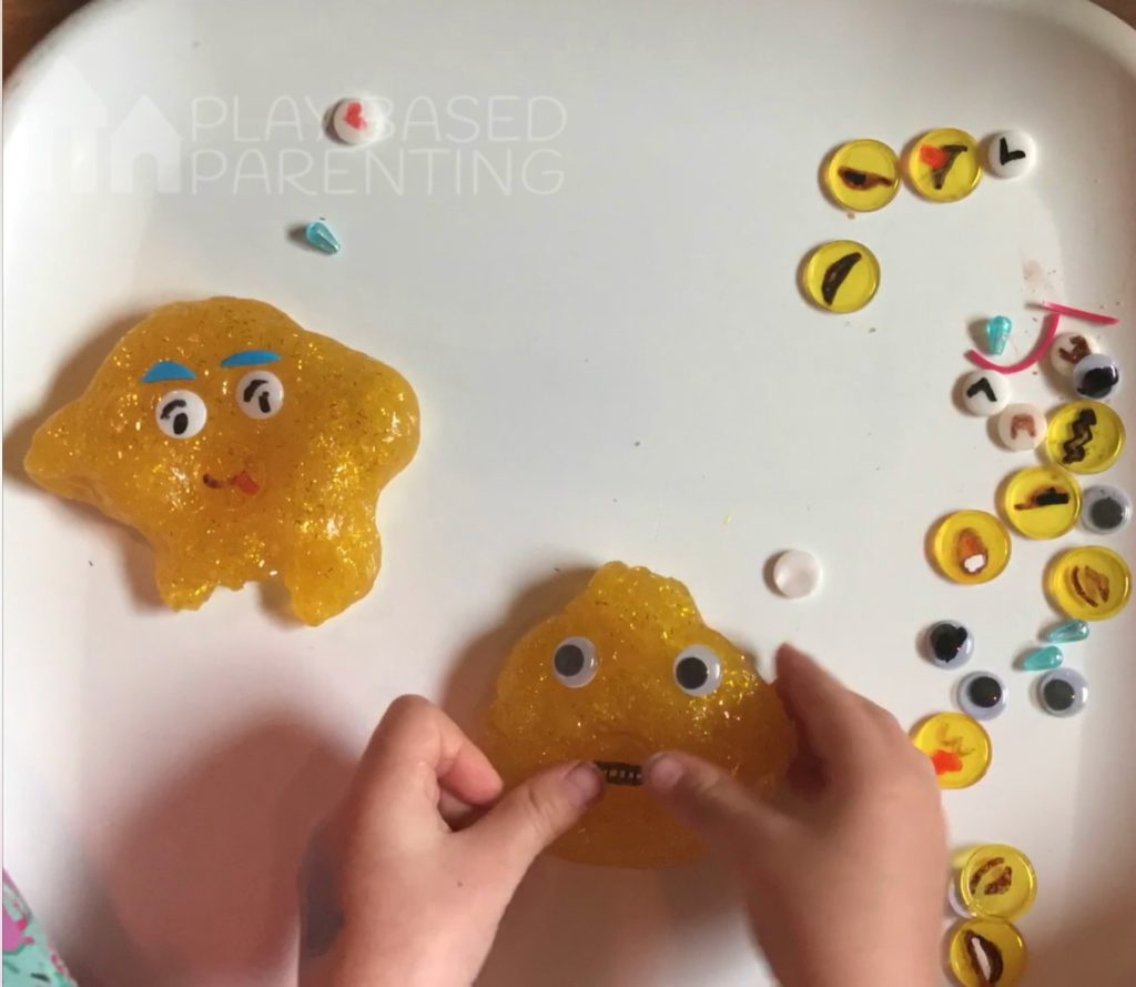 Emoji Slime activity to develop empathy in children