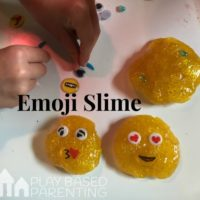 Emoji Slime Recipe for Developing Empathy & Emotional Awareness