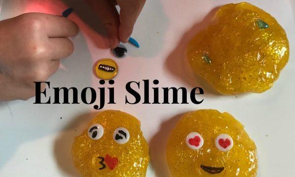 Emoji Slime Recipe for Developing Empathy & Emotional Awareness