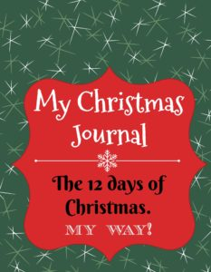 Christmas Journal writing and drawing prompts for kids