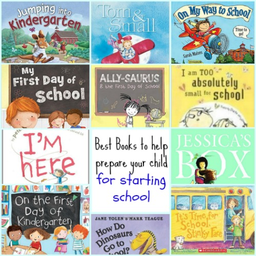Best books to prepare child for starting school