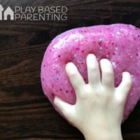 lovely scented Valentine's day Slime for kids