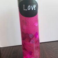 Calming love potion sensory bottle – An effective tool to teach children to self-regulate.