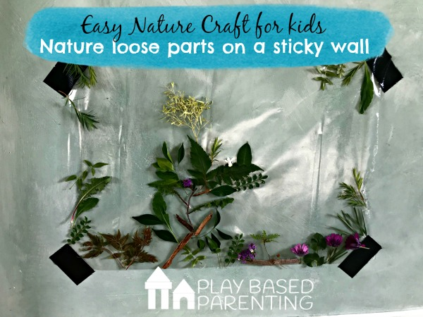 easy nature craft for kids
