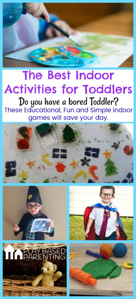 Best indoor activities for toddlers