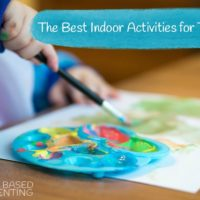 the best indoor activities for toddlers