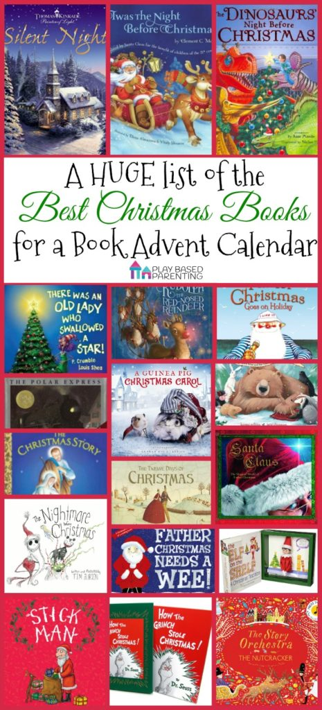 A Huge List of the Best Christmas Books for an Advent Calendar inlcuding some Australian favourites