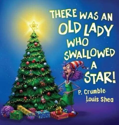 Best Christmas picture books for kids there was an old lady who swallowed a fly