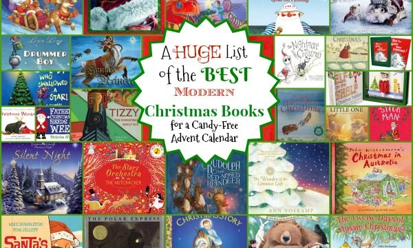The Best Christmas Books for a Candy free Advent Calendar