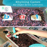 Phonemic Awareness Rhyming Games