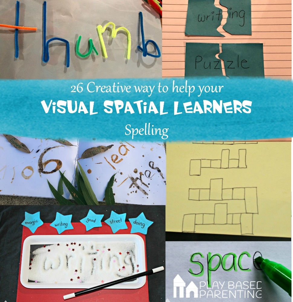 visual spatial learners help with multiplication