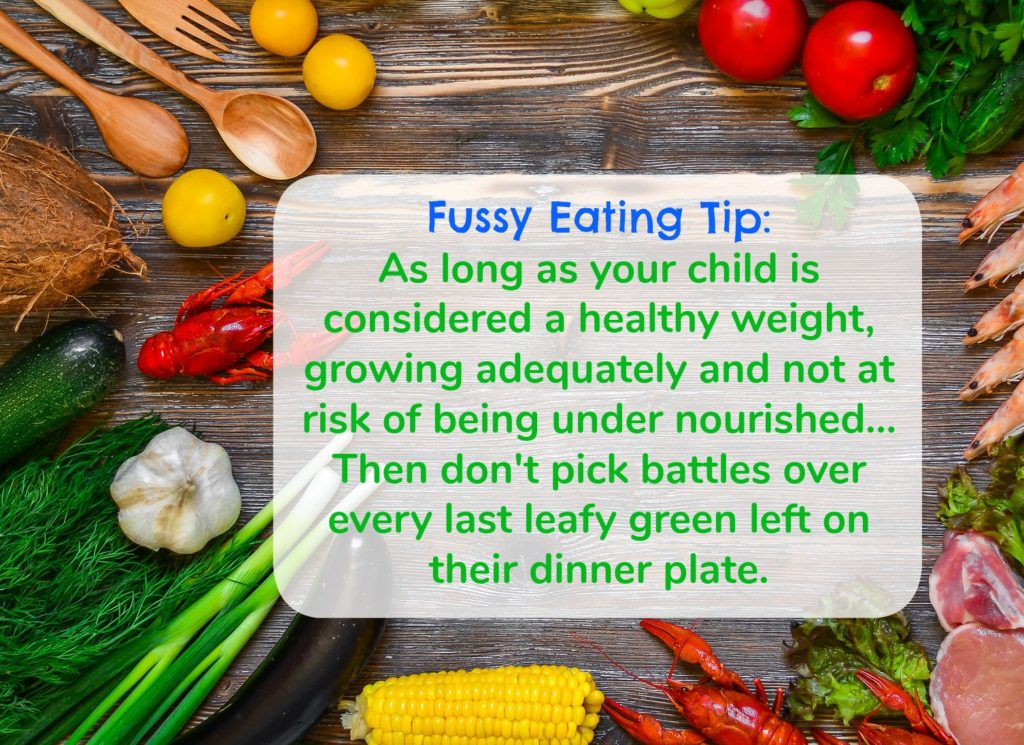 fussy eating tips for kids who are fussy eaters