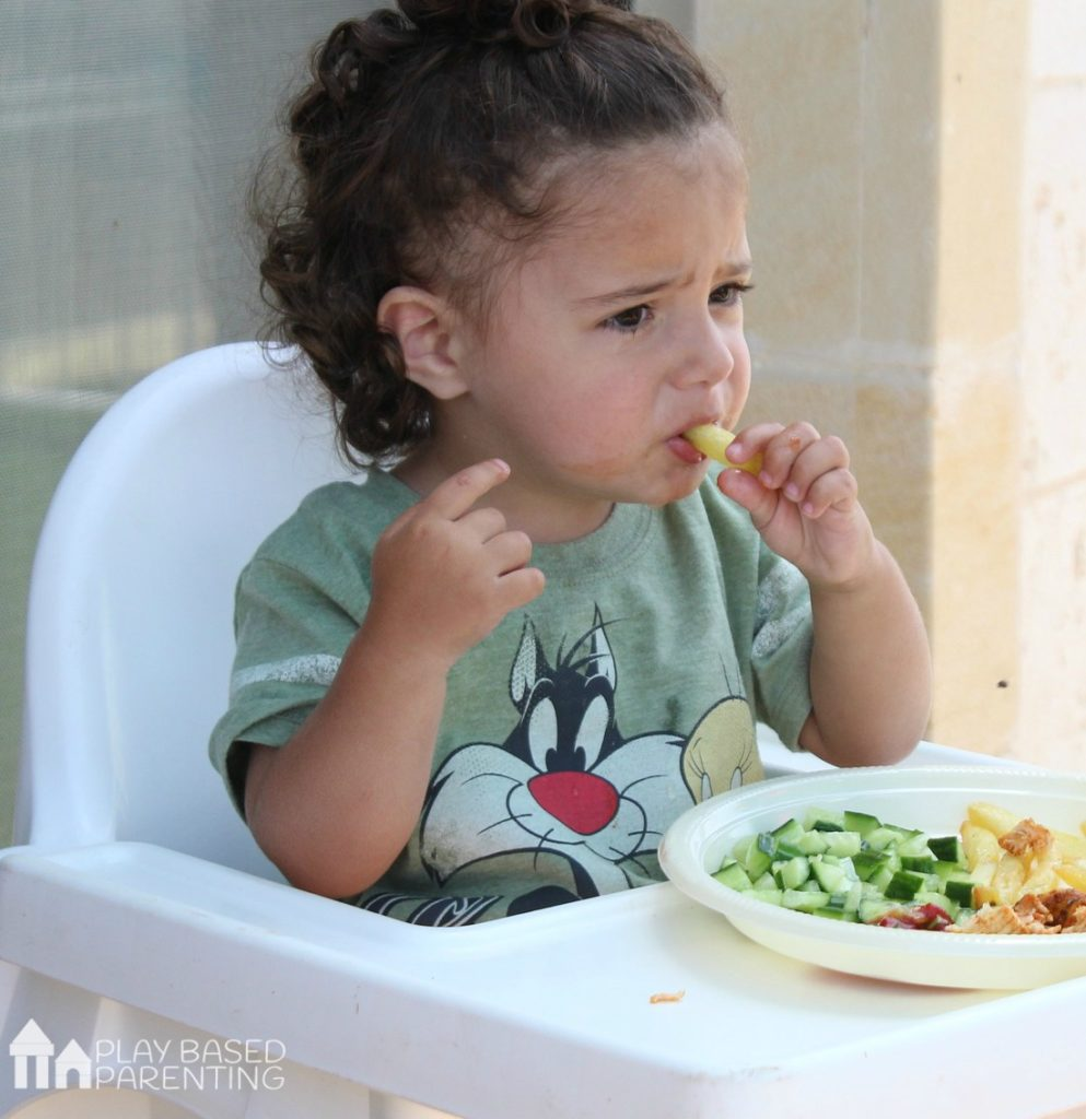 child is a super picky eater
