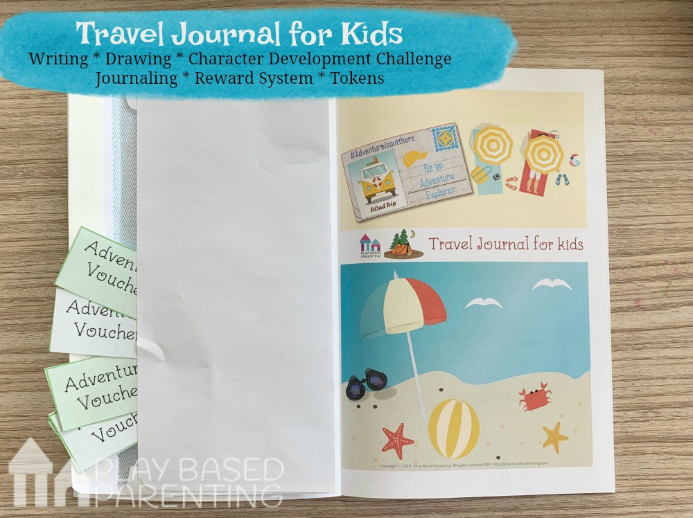 travel journal for kids tawk australia