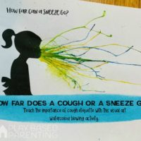 Teach Children Cough Etiquette visual arts printable