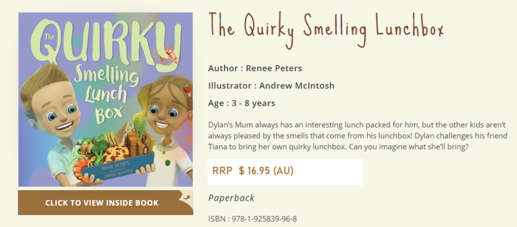 The Quirky Smelling Lunchbox Release